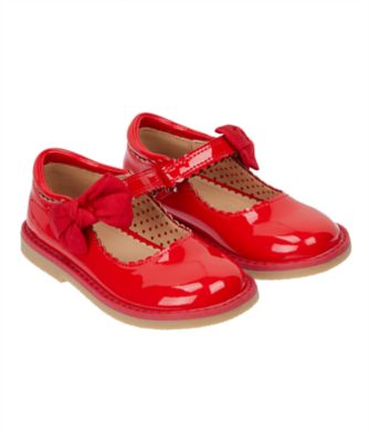 red patent mary jane shoes
