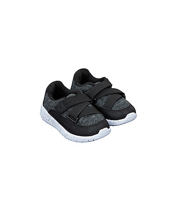 black marl trainers