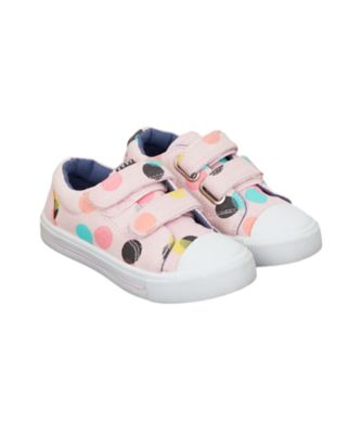 pink spot trainers