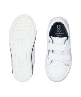plain white trainers