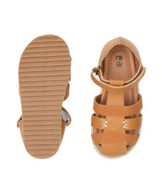 tan fisherman sandals