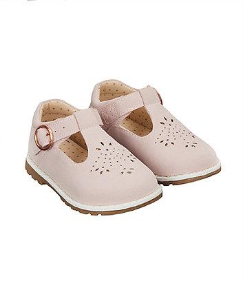 0da45d8e6687 first walker pink t-bar shoes