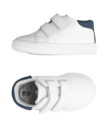 first walker white classic trainers