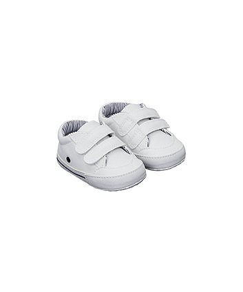 white pram shoes