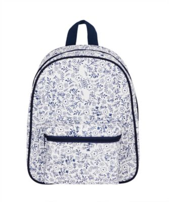 back to nursery floral backpack