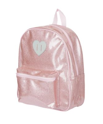 back to nursery pink sparkle backpack