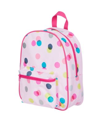 back to nursery pink spot backpack