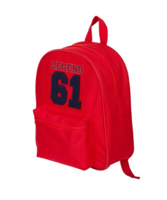 back to nursery red 61 backpack