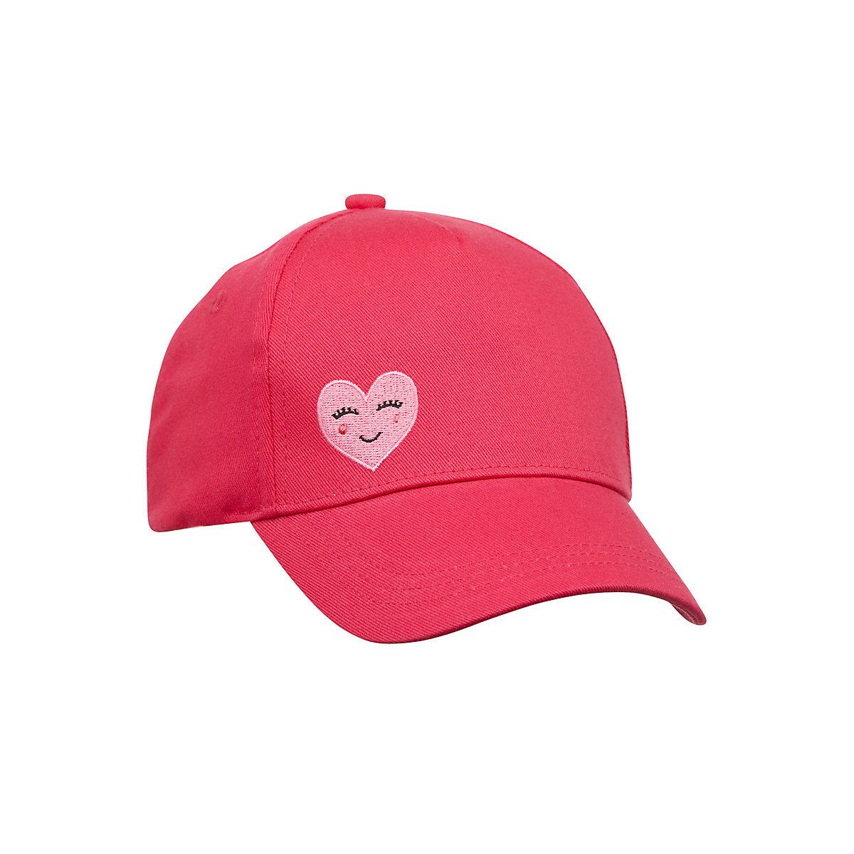 hot pink heart cap