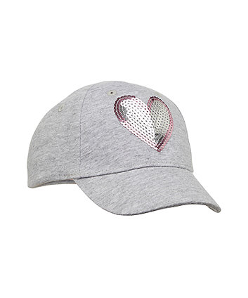 e9ca2f25f0c back to nursery sequin heart cap