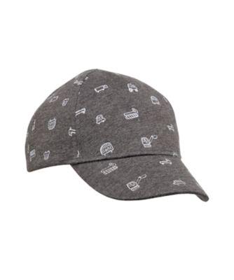 back to nursery grey vehicle cap