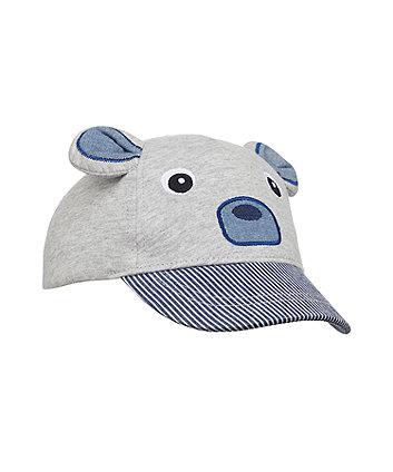 grey bear cap