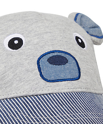 grey bear cap