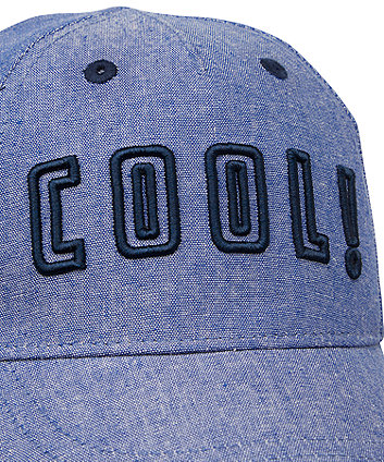 blue chambray cool cap