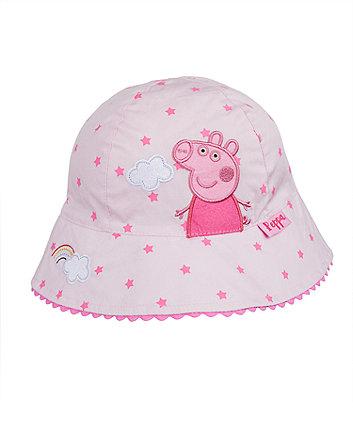 peppa pig fisherman sun hat