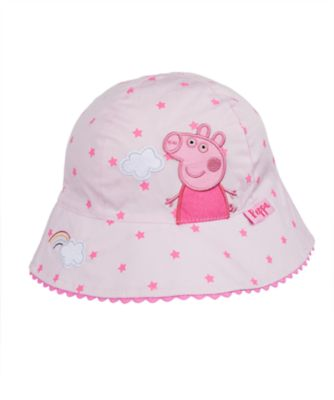 peppa pig fisherman sun hat