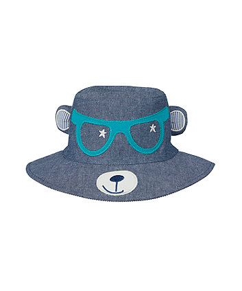 novelty bear fisherman hat