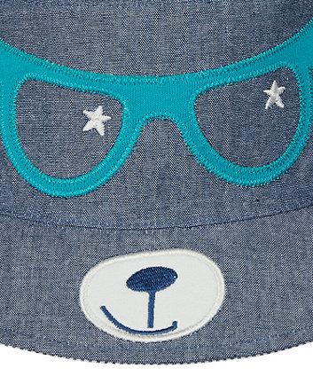 novelty bear fisherman hat