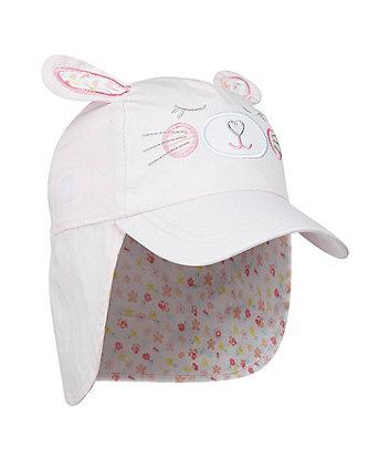 pink bunny keppi hat