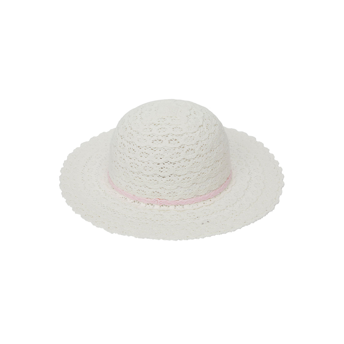 white wide brim floppy hat