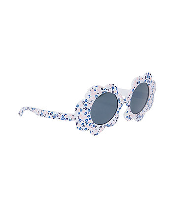 flower frame sunglasses