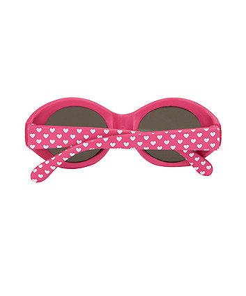 pink heart baby sunglasses