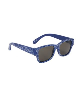 navy printed baby sunglasses
