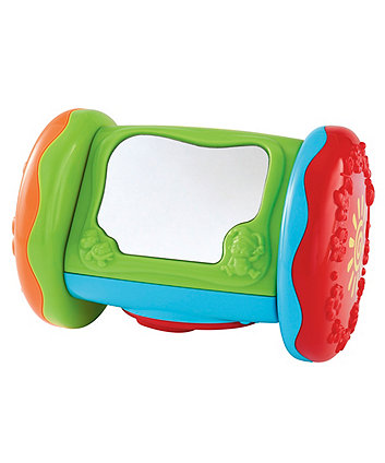 Mothercare Baby Safari Roll-Along Crawling Toy