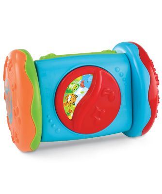 Mothercare Baby Safari Roll-Along Crawling Toy