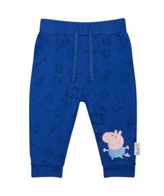 george pig blue joggers