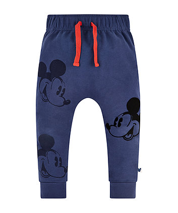 Disney mickey mouse navy joggers