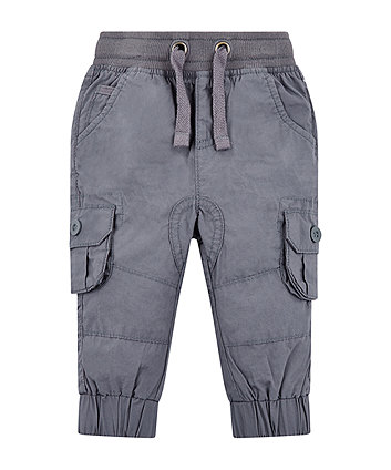 grey jogger trousers