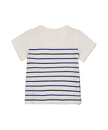 beep stripe t-shirt