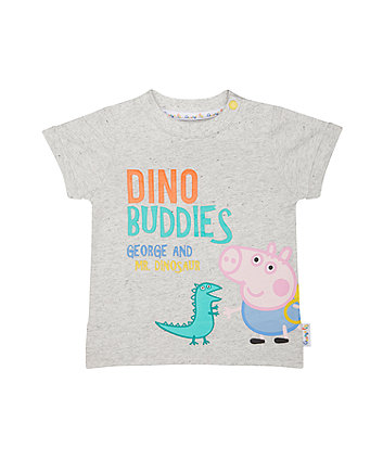 grey george pig t-shirt
