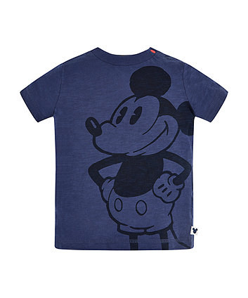 Disney mickey mouse blue t-shirt