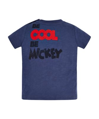 Disney mickey mouse blue t-shirt
