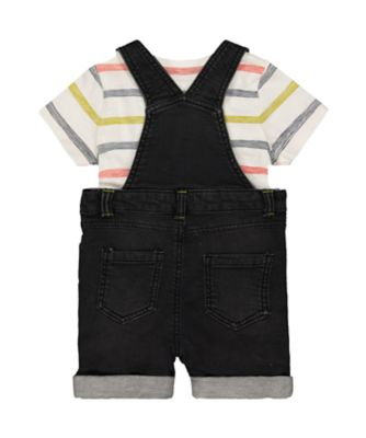 bibshorts and stripe t-shirt set