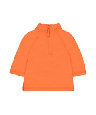 neon orange rash vest