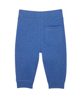blue awesome joggers