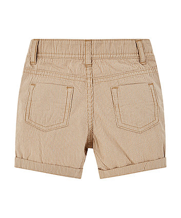 stone striped chino shorts