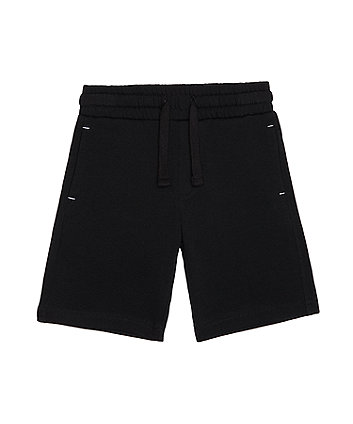 statement  black shorts