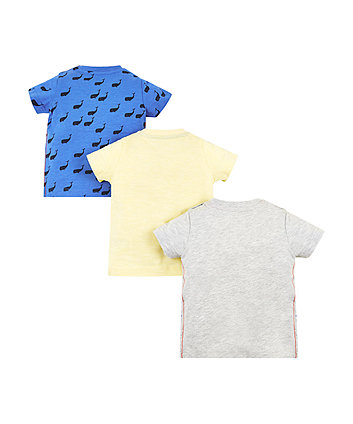 whale hello t-shirts – 3 pack