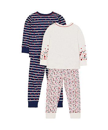 little lady pyjamas - 2 pack