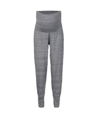 grey maternity lounge/yoga pants