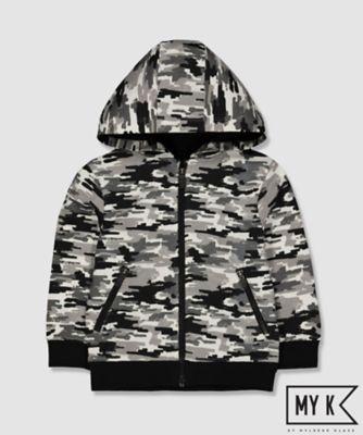 my k camo print hoodie