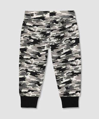my k camo print joggers