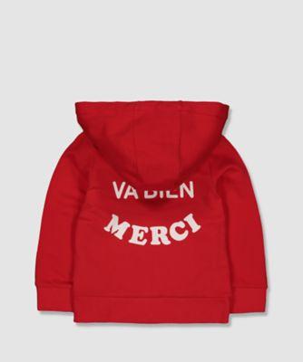 my k red hoodie