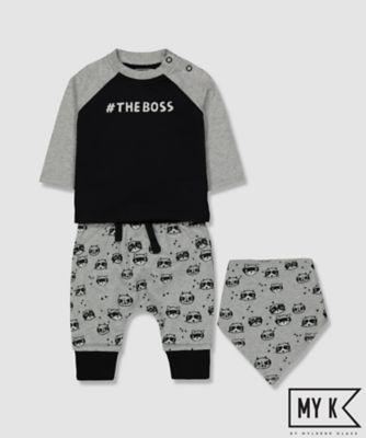 my k the boss 3-piece set