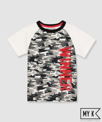 my k camo winner t-shirt