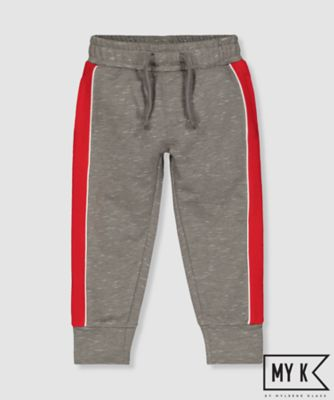 my k red and grey joggers